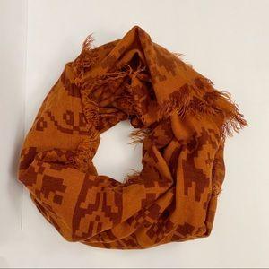 Michael Stars tribal print scarf